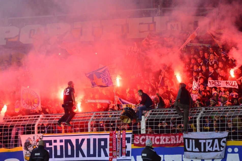 Mit dem neuen Plan, dürfen die Ultras in der Südkurve bleiben.