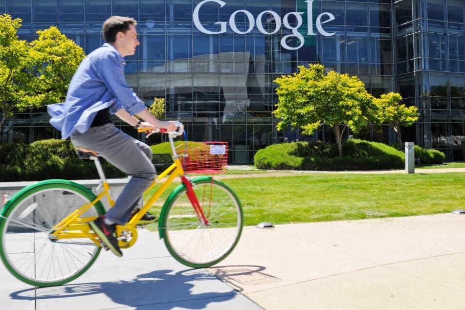 Die 7-Jährige Chloe möchte später auf dem Google-Campus arbeiten