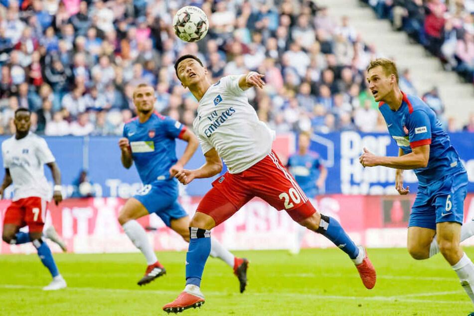 Bisher konnte Hee-Chan Hwang erst ein Tor für den Hamburger SV erzielen.