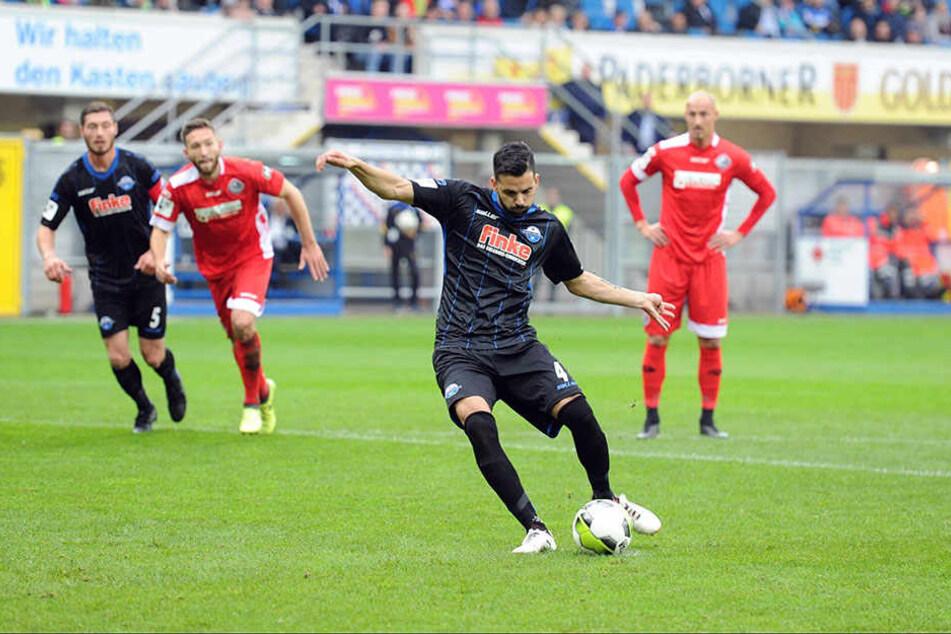 Massih Wassey (29) erzielte das 1:0 für die Hausherren.
