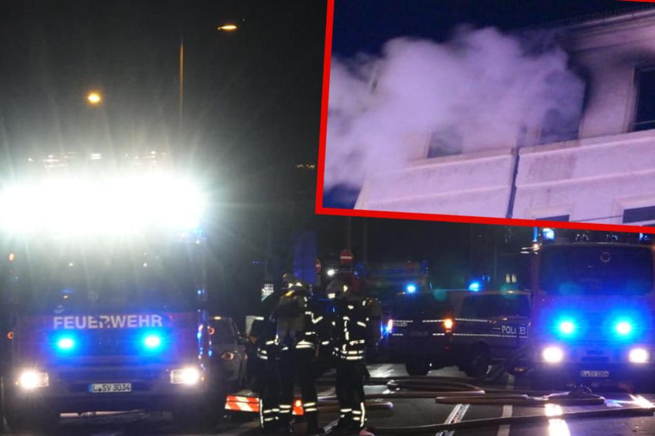 Wieder Flammen auf der Eisenbahnstraße: Brandursache steht fest
