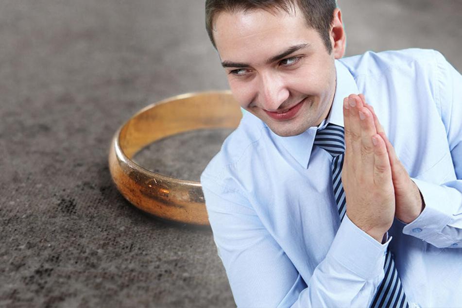Mit einem Ring fängt der Betrug an. (Symbolbild)