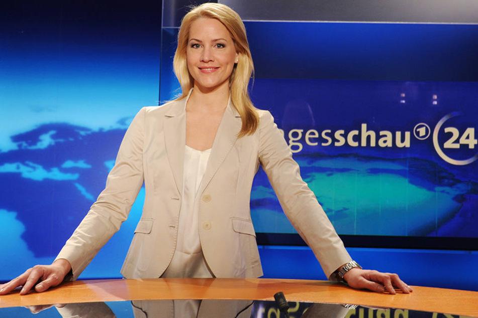 Judith Rakers moderiert seit Jahren die tagesschau in der ARD.
