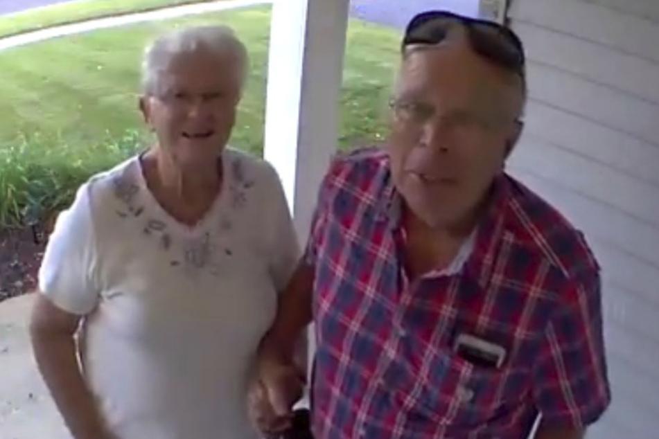 Diese Großeltern kennen jetzt mehrere Millionen Twitter-User.