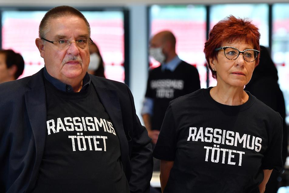 Der Linke-Abgeordnete Knut Korschewsky (60, l.) könnte das Zünglein an der Waage sein. Er will sich nur beteiligen, wenn CDU, SPD, Grüne und Linke eine Zweidrittelmehrheit aus eigener Kraft zusammenbringen.