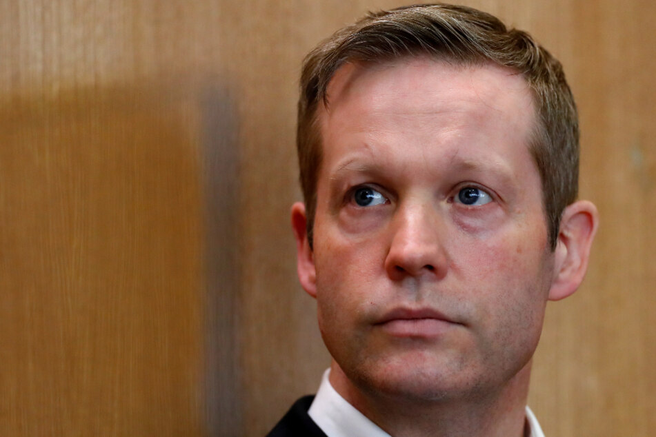 Stephan Ernst am 18.06.2020 in Frankfurt vor Gericht.