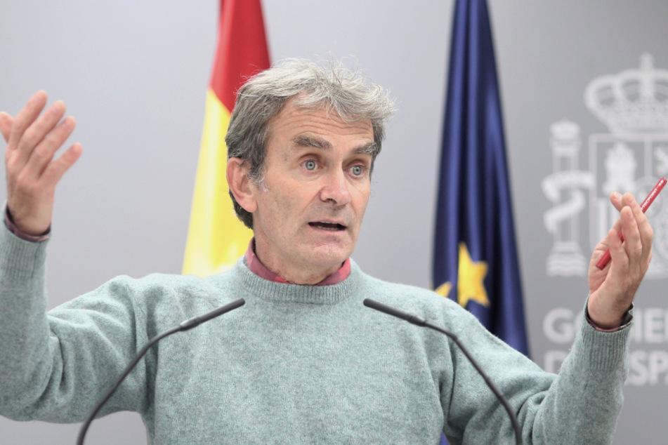 Fernando Simón, Chef der Behörde für Gesundheitliche Notfälle.