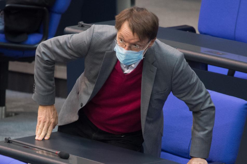 SPD-Gesundheitsexperte Karl Lauterbach (57).