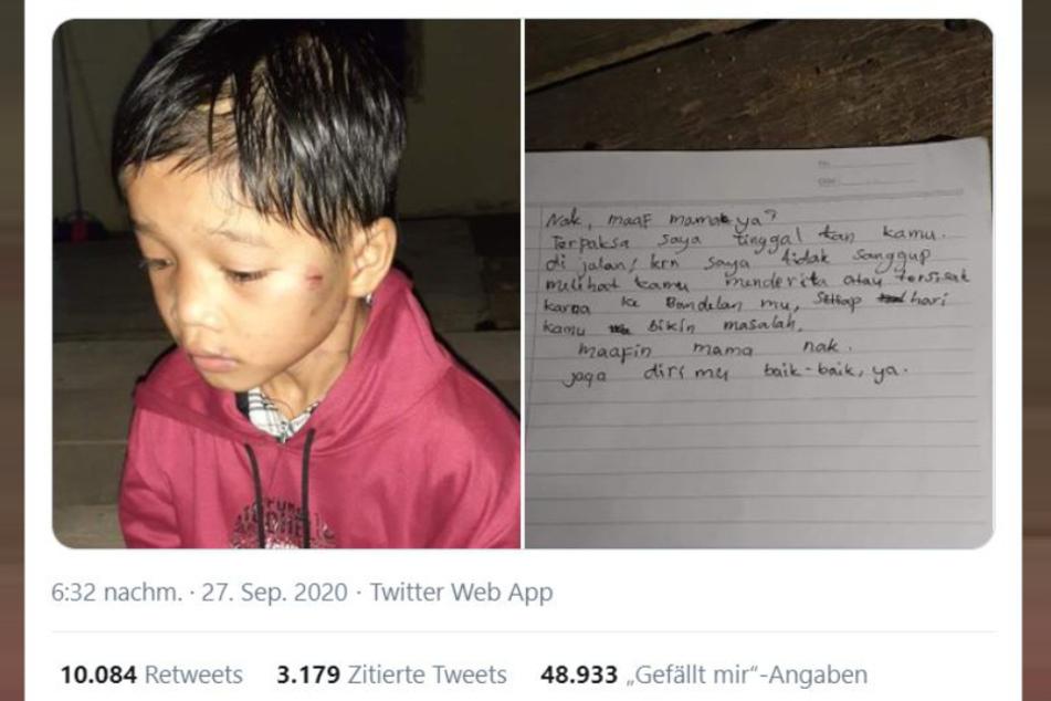 That heartrending tweet went viral.