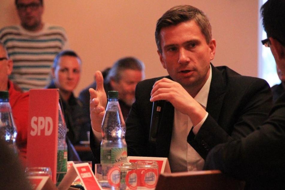 Wirtschaftsminister Martin Dulig (43, SPD) gilt jetzt als Sündenbock.
