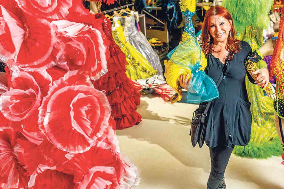 Carte-Blanche-Chefin Zora Schwarz  verkauft über tausend Einzelstücke im eigens eingerichteten Laden.