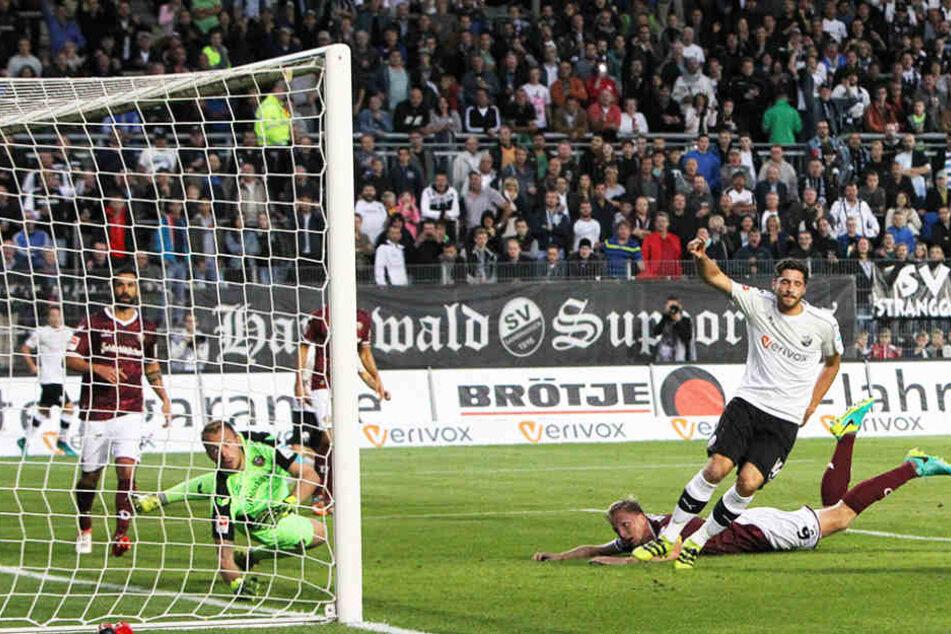 Ex-Dynamo-Spieler Tim Kister verpasste Dynamo das zweite Gegentor.