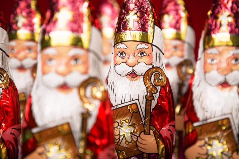 Der Nikolaus oder auch Weihnachtsmann ist eine beliebte Süßigkeit in der Vorweihnachtszeit. (Symbolbild)