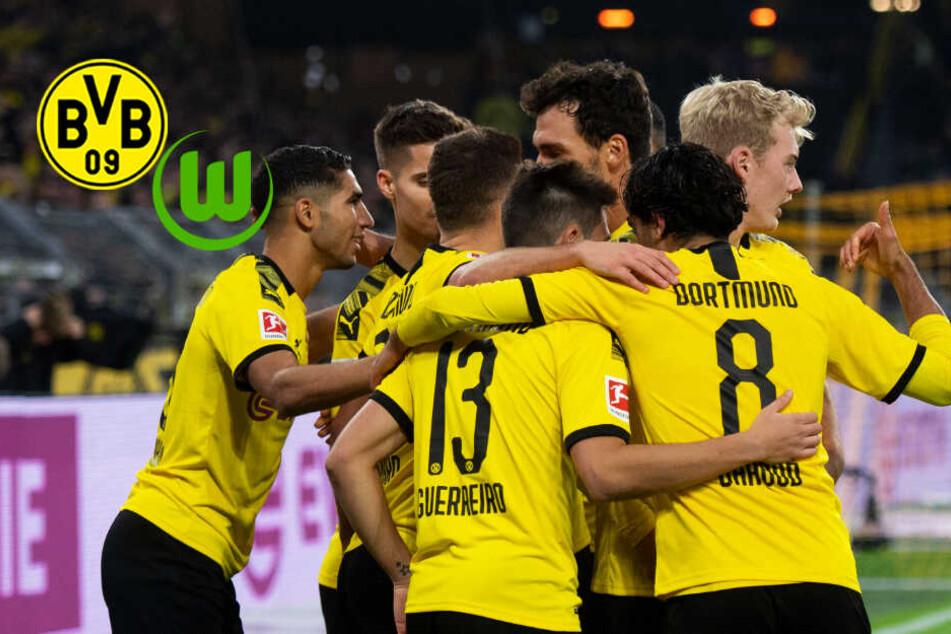BVB überholt den FC Bayern! Deutlicher Sieg gegen Wolfsburg