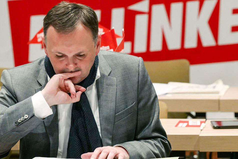 André Schollbach (39) ist Fraktionschef der Linken im Stadtrat.