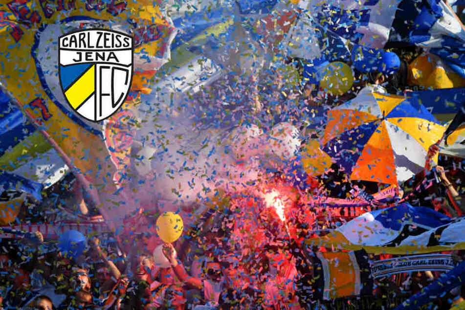 Jenas Fans konnten sich über den ersten Punkt der Saison im Ost-Duell freuen.
