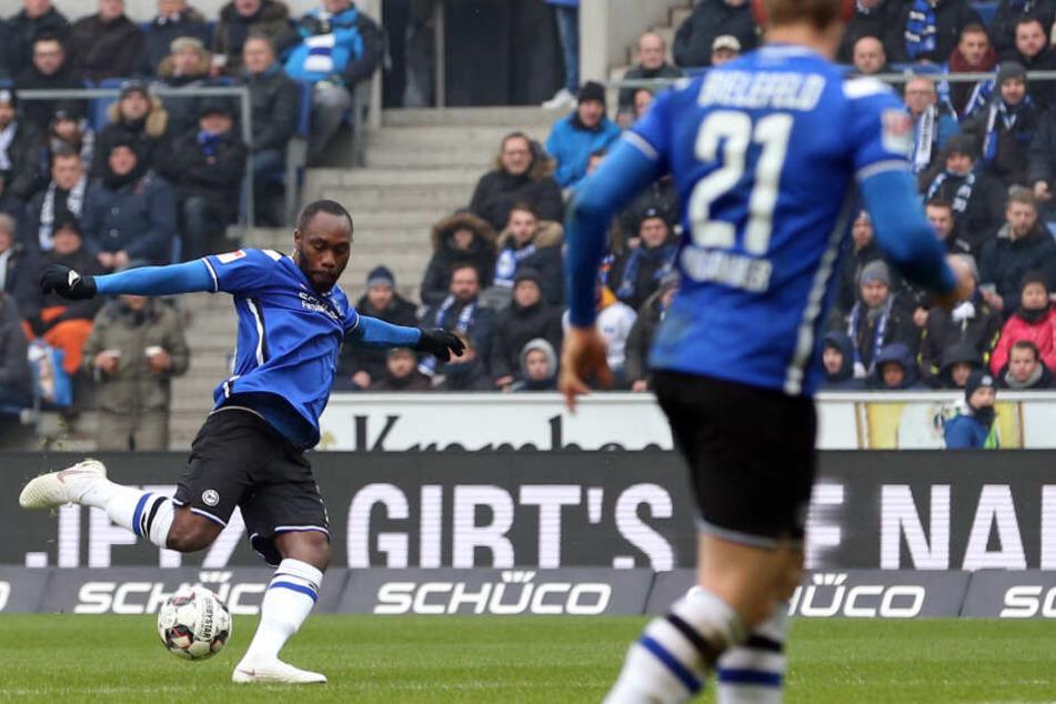 Reinhold Yabo ist nun in der zweiten Liga für Bielefeld aktiv.