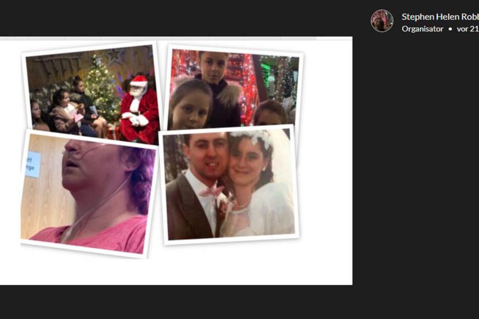 Bilder der Familie, die Stephen für GoFundMe zur Verfügung gestellt hat.