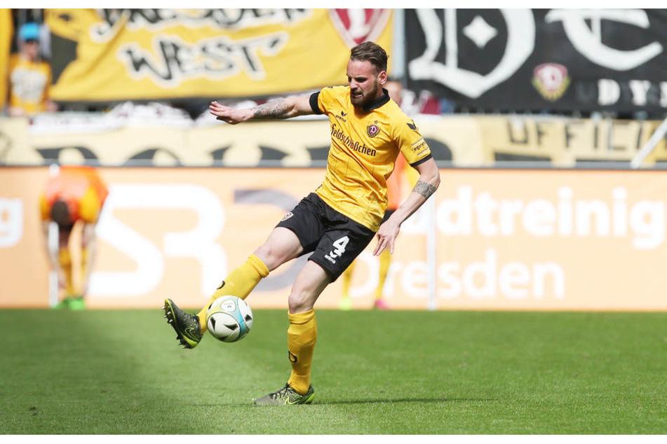 Schock für Dynamo: Giuliano Modica (25) fällt mehrere Wochen verletzt aus.