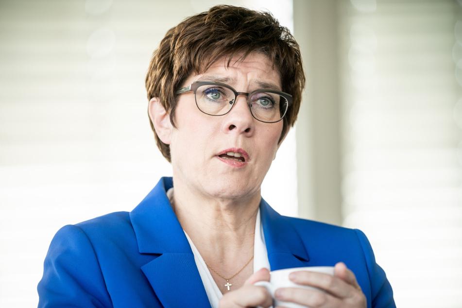 CDU-Chefin Annegret Kramp-Karrenbauer (57).
