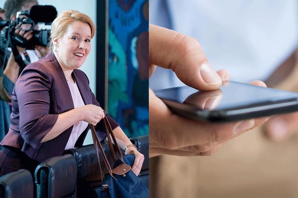Familienleistungen bald nur noch digital? Franziska Giffey plant Smartphone-App