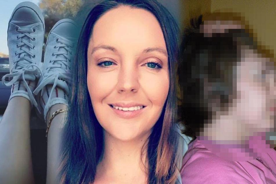 Frau verliert vorderen Teil ihres Kopfes, weil sie die Füße aufs Armaturenbrett legte