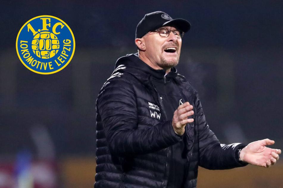 Wolfgang Wolf bleibt bis Saisonende Trainer bei Lok Leipzig