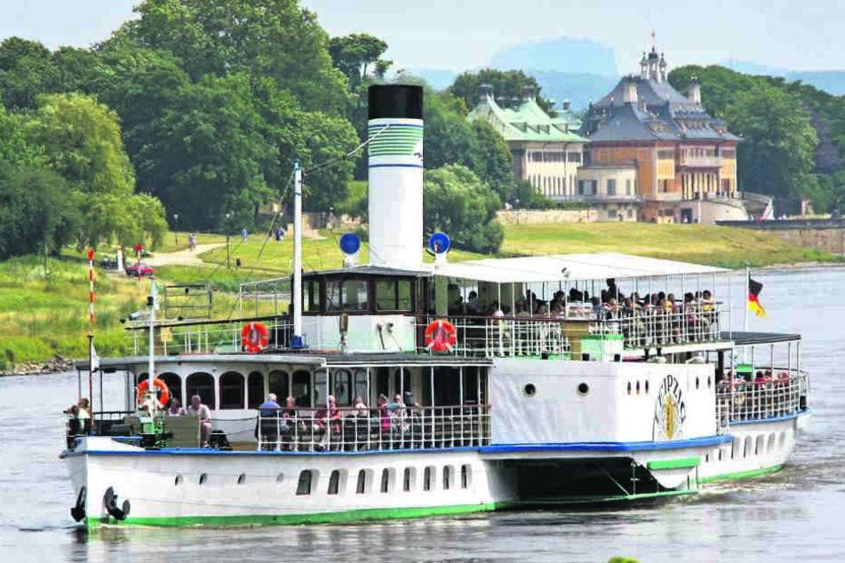 Ebbe in der Elbe führt zu Ebbe in der Kasse: Millionenverluste für die Weiße Flotte