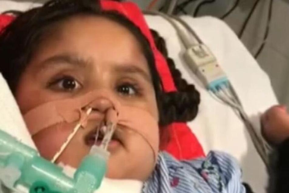 Ärzte wollten sie sterben lassen: Jetzt kämpft die 5-Jährige weiter um ihr Leben