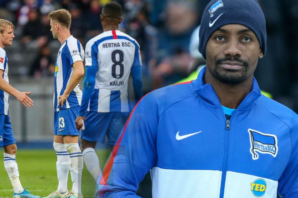 Salomon Kalou will Hertha BSC noch im Winter verlassen.