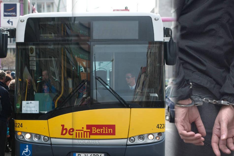 Eine junge Frau wurde in einem Bus der BVG am Freitagabend beleidigt und geschlagen. (Symbolbild)