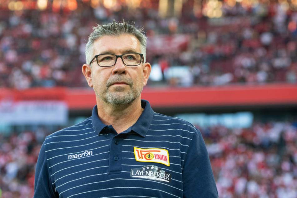 Urs Fischer will mit Union auch in Sandhausen drei Punkte holen.