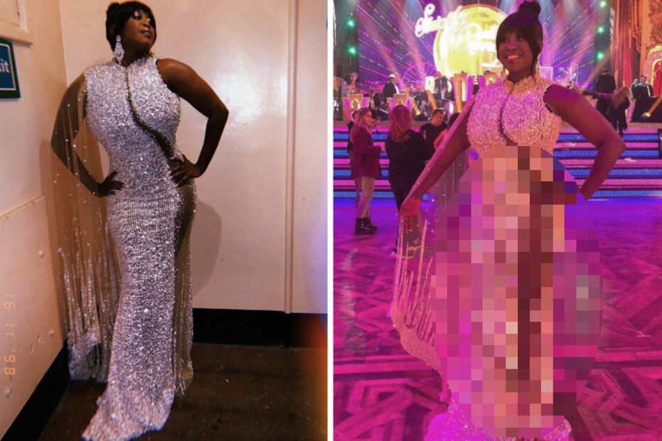 Mega-sexy: Motsi Mabuse zeigt Bein bis zum Po im Glitzer-Kleid