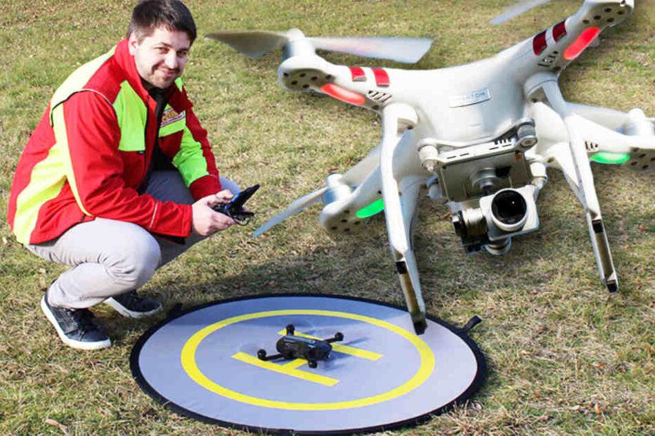 Dresden braucht Drohnen-Piloten: So kannst Du Polizei und Feuerwehr helfen!