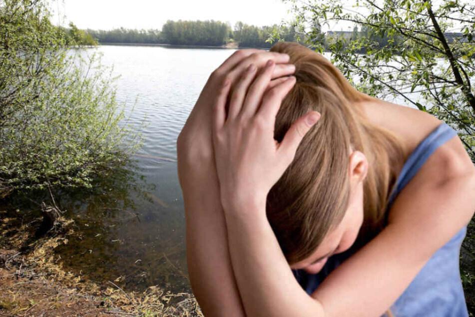 Eine 14-Jährige wurde an einem Potsdamer Badesee im Intimbereich begrapscht. (Symbolbild)