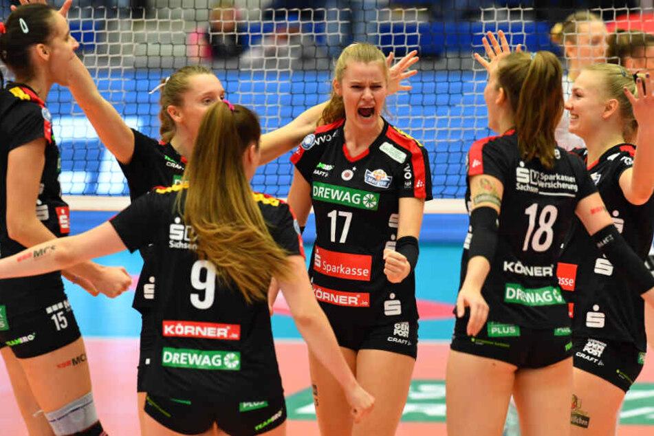 Die DSC-Damen dürfen sich über den Einzug ins Pokal-Halbfinale freuen.