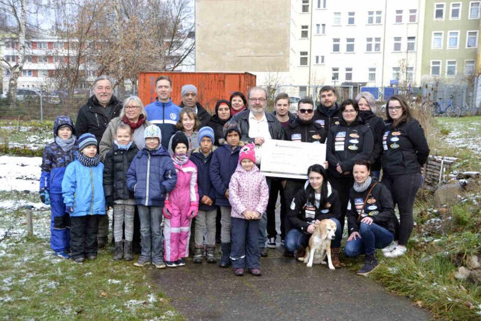 Über 3000 Euro kamen bei der Massage-Aktion für den Verein Nachhall zusammen.
