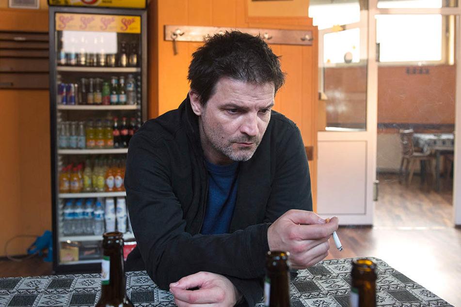 Verstörend: Roman Eggers (Mišel Maticevic, 46) ist eine tickende Zeitbombe - und rettet dem Kommissar dennoch das Leben.