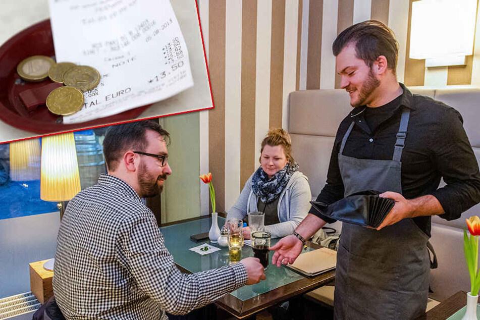 Kellner, Frisör, Taxifahrer oder Pizzabote: Es gibt immer weniger Trinkgeld