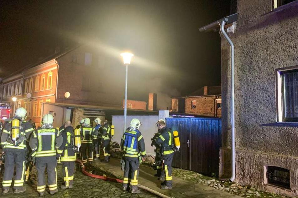 Auch die Feuerwehr konnte nicht verhindern, dass die Werkstatt komplett ausbrannte.