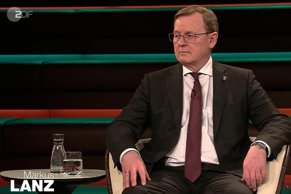 Thüringens Ministerpräsident Bodo Ramelow (64, Linke) war am Donnerstagabend zu Gast bei Markus Lanz.