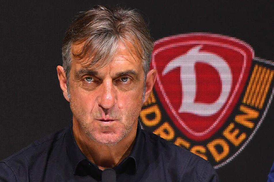 Dynamos Sportgeschäftsführer Ralf Minge verkündete an den Sky-Mikrofonen, dass Dynamo noch zuschlagen werde.