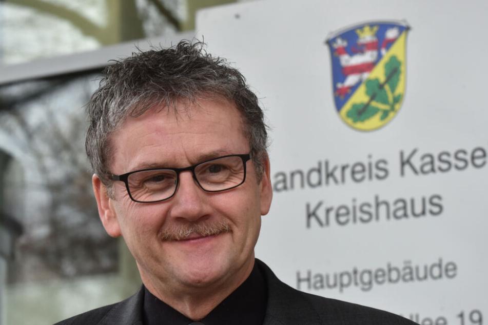 Uwe Schmidt (SPD) ist der Landrat des Kreises Kassel.