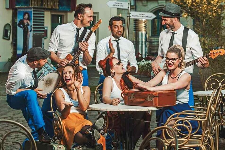 Burlesque-Band feiert Premiere zum Elbhangfest!