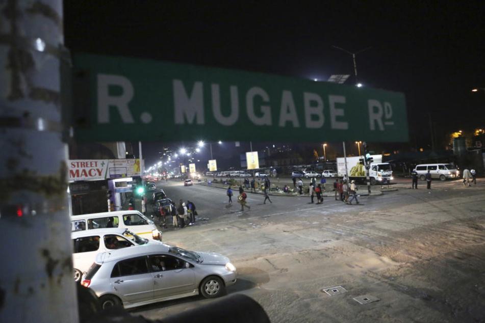 In Simbabwes Hauptstadt Harare war es zu einer ungewöhnlich großen Militärpräsenz gekommen.