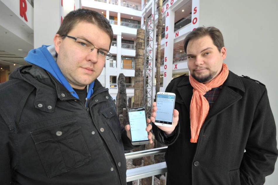 Toni Rotter (31, Piraten) will, dass bald alle Chemnitzer beim Parken mit dem Handy bezahlen können.