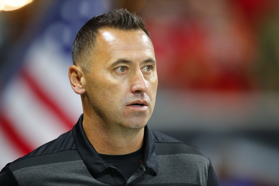 Offensive coordinator Steve Sarkisian (46) is the new head coach of the Texas Longhorns.