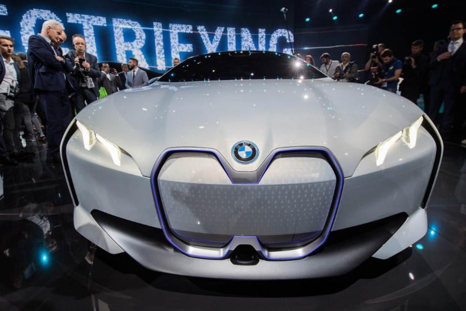 Ab 2021 soll der BMW i4 in München produziert werden.