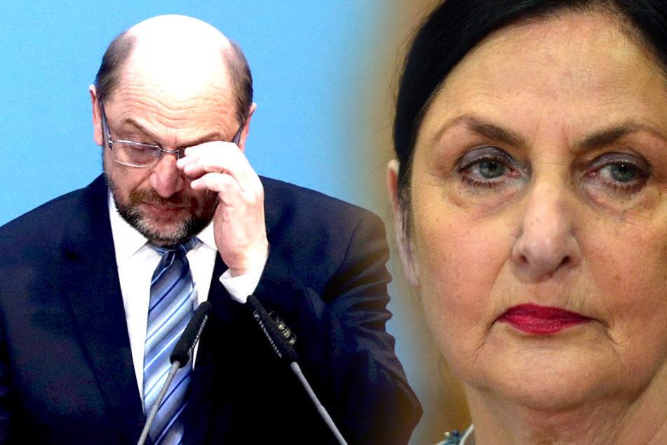 """Martin Schulz' Schwester greift SPD-Spitze an: """"Schlangengrube"""""""