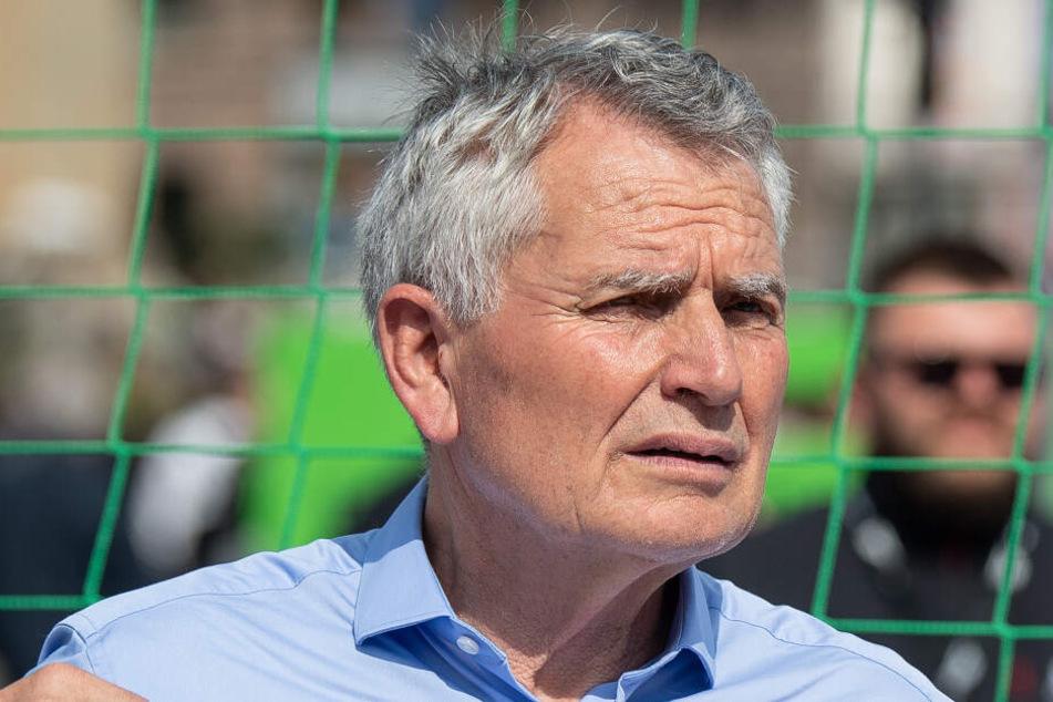 Präsident des VfB Wolfgang Dietrich.